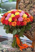 Букет из 51 розы микс — planeta.florist