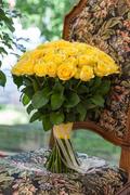 Букет из 51 Желтой Розы - planeta.florist