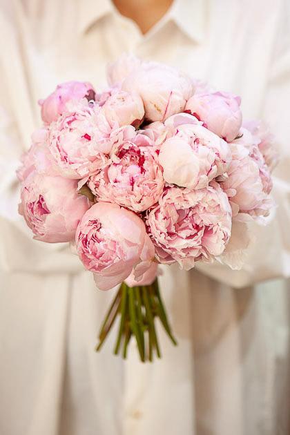 Букет Невесты из Розовых Пионов Сара Бернард Саратов
