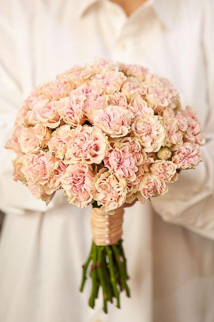 Букет Невесты из Кустовой Розы Свит Флоу Саратов