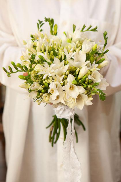 Букет Невесты из Белой Фрезии Саратов