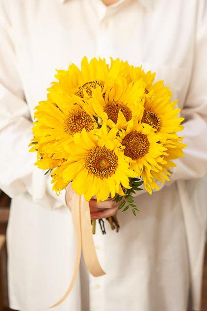 Букет Невесты из Подсолнухов Саратов