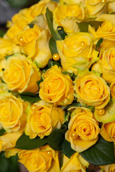 Желтая Роза в Шляпной Коробке Крафт - planeta.florist