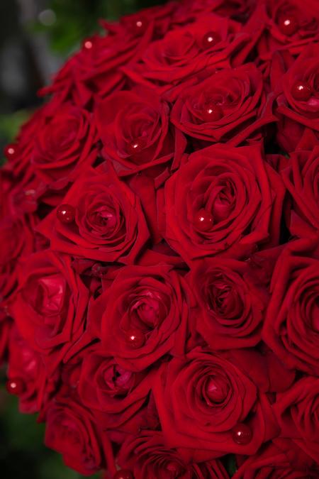 Красная Роза в Шляпной коробке - planeta.florist