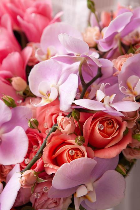 Цветы в форме сердца: Роза Розовая, Лососевая, Орхидея, Тюльпаны купить с доставкой - 2