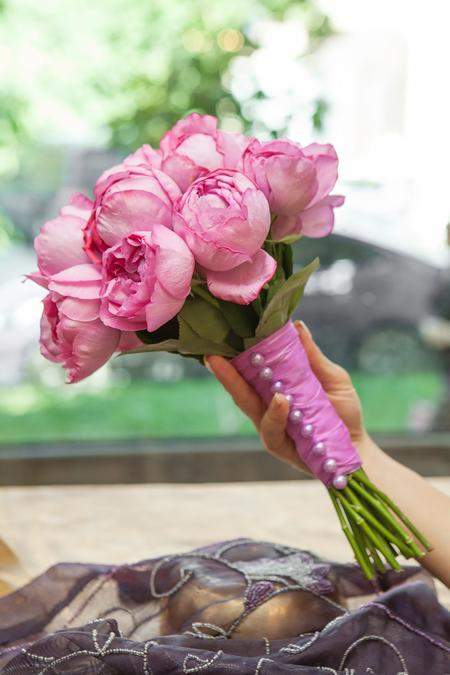 Букет Невесты из Ароматной розы