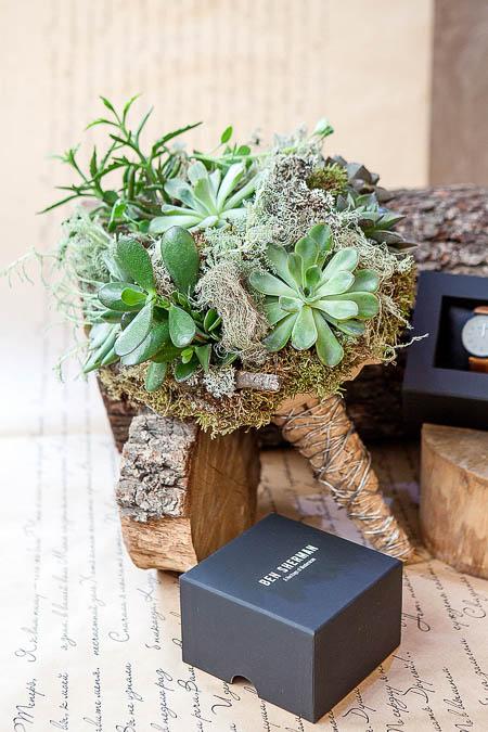 Букет из Суккулентов — planeta.florist