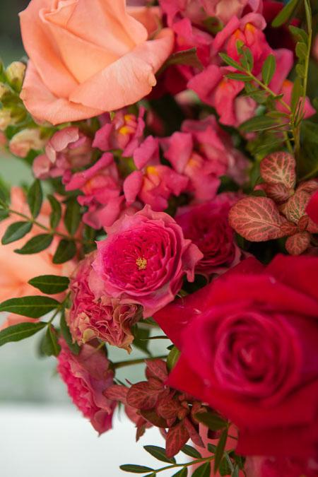 Цветы в Коробке: Роза микс, Антирринум и Фиттония  Саратов - фото 2