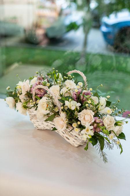 Корзина Кустовых Роз, Антирринум и Фрезия Саратов - фото 3