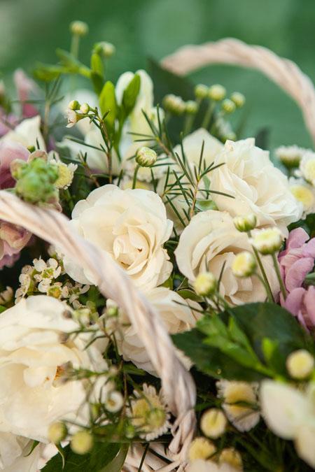 Корзина Кустовых Роз, Антирринум и Фрезия Саратов - фото 2